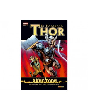 Marvel deluxe:  THOR 08: ARDE TODO