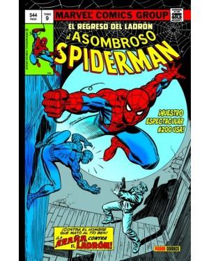 Marvel Gold Omnibus:  EL ASOMBROSO SPIDERMAN 09: EL REGRESO DEL LÁDRON