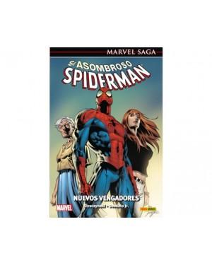 Marvel Saga 22:  EL ASOMBROSO SPIDERMAN 08: NUEVOS VENGADORES