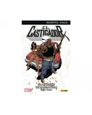 Marvel Saga 42:  EL CASTIGADOR 08: EL REGRESO DE BARRACUDA