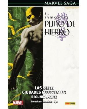 Marvel Saga 70  EL INMORTAL PUÑO DE HIERRO 03: LAS SIETE CIUDADES CELESTIALES. SEGUNDA PARTE