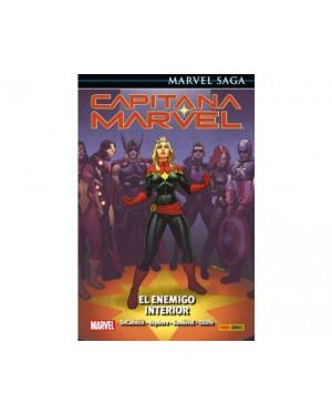 Marvel Saga 87:  CAPITANA MARVEL 03: EL ENEMIGO INTERIOR