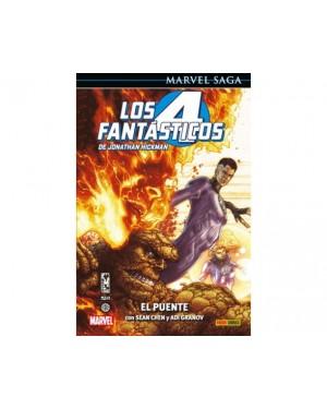 Marvel Saga 88:  LOS 4 FANTÁSTICOS DE JONATHAN HICKMAN 01: EL PUENTE