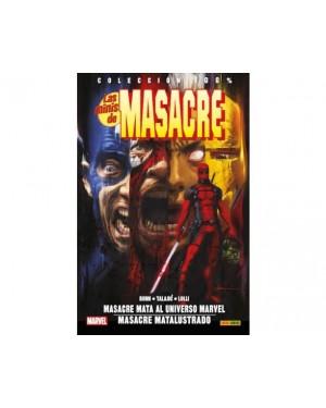 LAS MINIS DE MASACRE 02:   MASACRE MATA AL UNIVERSO MARVEL / MASACRE MATALUSTRADO