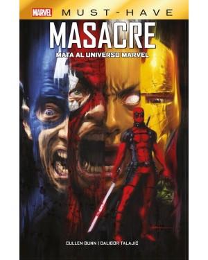 MARVEL MUST-HAVE:  MASACRE MATA AL UNIVERSO MARVEL