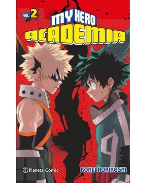 MY HERO ACADEMIA 02  (Planeta comic)