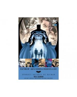Grandes autores de Batman: Neil Gaiman  ¿Qué le sucedió al Cruzado de la Capa?