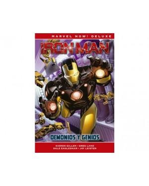Marvel Now! Deluxe:  IRON MAN DE KIERON GILLEN 01: DEMONIOS Y GENIOS