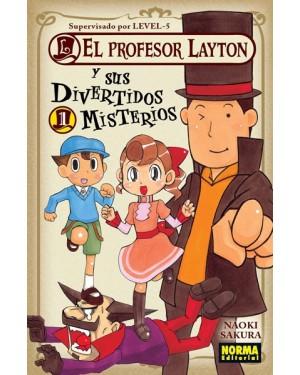 EL PROFESOR LAYTON Y SUS DIVERTIDOS MISTERIOS 01   (de 04)