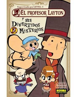 EL PROFESOR LAYTON Y SUS DIVERTIDOS MISTERIOS 02   (de 04)