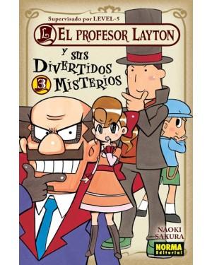 EL PROFESOR LAYTON Y SUS DIVERTIDOS MISTERIOS 03   (de 04)