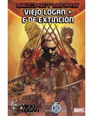 SECRET WARS 12: VIEJO LOGAN + E DE EXTINCIÓN