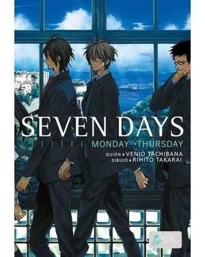 SEVEN DAYS  (pack de 2 números)