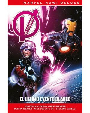Marvel now! deluxe:  LOS VENGADORES DE JONATHAN HICKMAN 02: EL ÚLTIMO EVENTO BLANCO