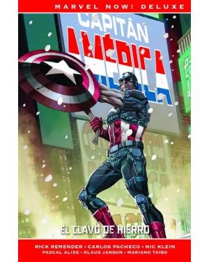 Marvel now! deluxe: CAPITÁN AMÉRICA DE RICK REMENDER 02: EL CLAVO DE HIERRO