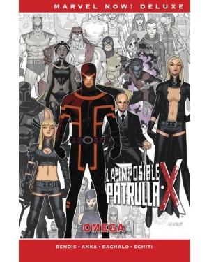 Marvel now! deluxe: LA PATRULLA-X DE BRIAN MICHAEL BENDIS 07. OMEGA
