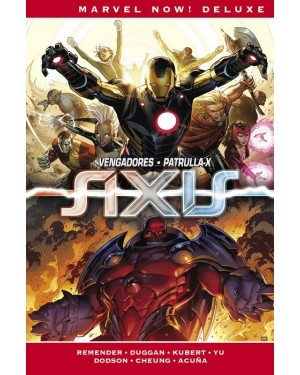 Marvel now! deluxe:  IMPOSIBLES VENGADORES 03: AXIS