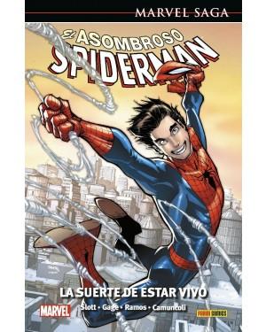 Marvel Saga 105  EL ASOMBROSO SPIDERMAN 46: LA SUERTE DE ESTAR VIVO
