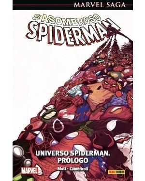 Marvel Saga 107  EL ASOMBROSO SPIDERMAN 47: UNIVERSO SPIDERMAN. PRÓLOGO