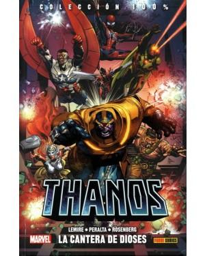 100% Marvel HC. THANOS 02:  LA CANTERA DE LOS DIOSES