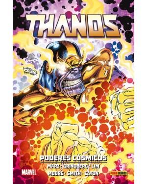 100% Marvel HC. THANOS: PODERES CÓSMICOS