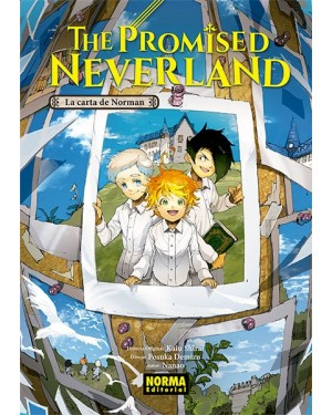 THE PROMISED NEVERLAND. La carta de Norman (Novela)