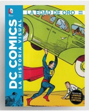 DC COMICS: LA HISTORIA VISUAL. LA EDAD DE ORO 1935 A 1942