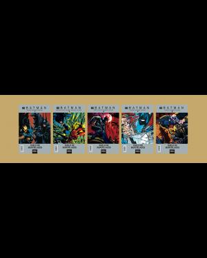 BATMAN:  DUELO DE MURCIÉLAGOS  (pack de 5 números)