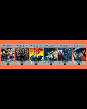 BATMAN:  LA CAÍDA DEL MURCIÉLAGO (pack de 6 números)