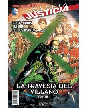 LIGA DE LA JUSTICIA: LA TRAVESÍA DEL VILLANO (pack de 3 números)