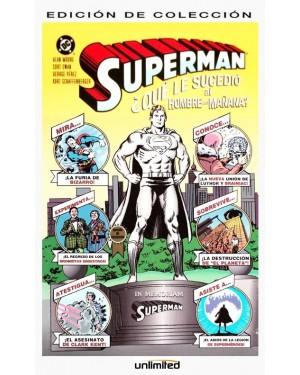 SUPERMAN:  ¿QUÉ LE SUCEDIÓ AL HOMBRE DEL MAÑANA?