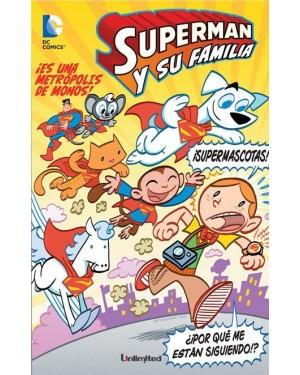 SUPERMAN Y SU FAMILIA 02:  ¡ES UNA METRÓPOLIS DE MONOS!