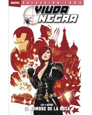 Colección 100% Marvel: VIUDA NEGRA: EL NOMBRE DE LA ROSA