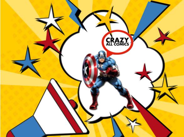 Crazy all comics