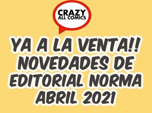 Novedades 2 Abril 2021